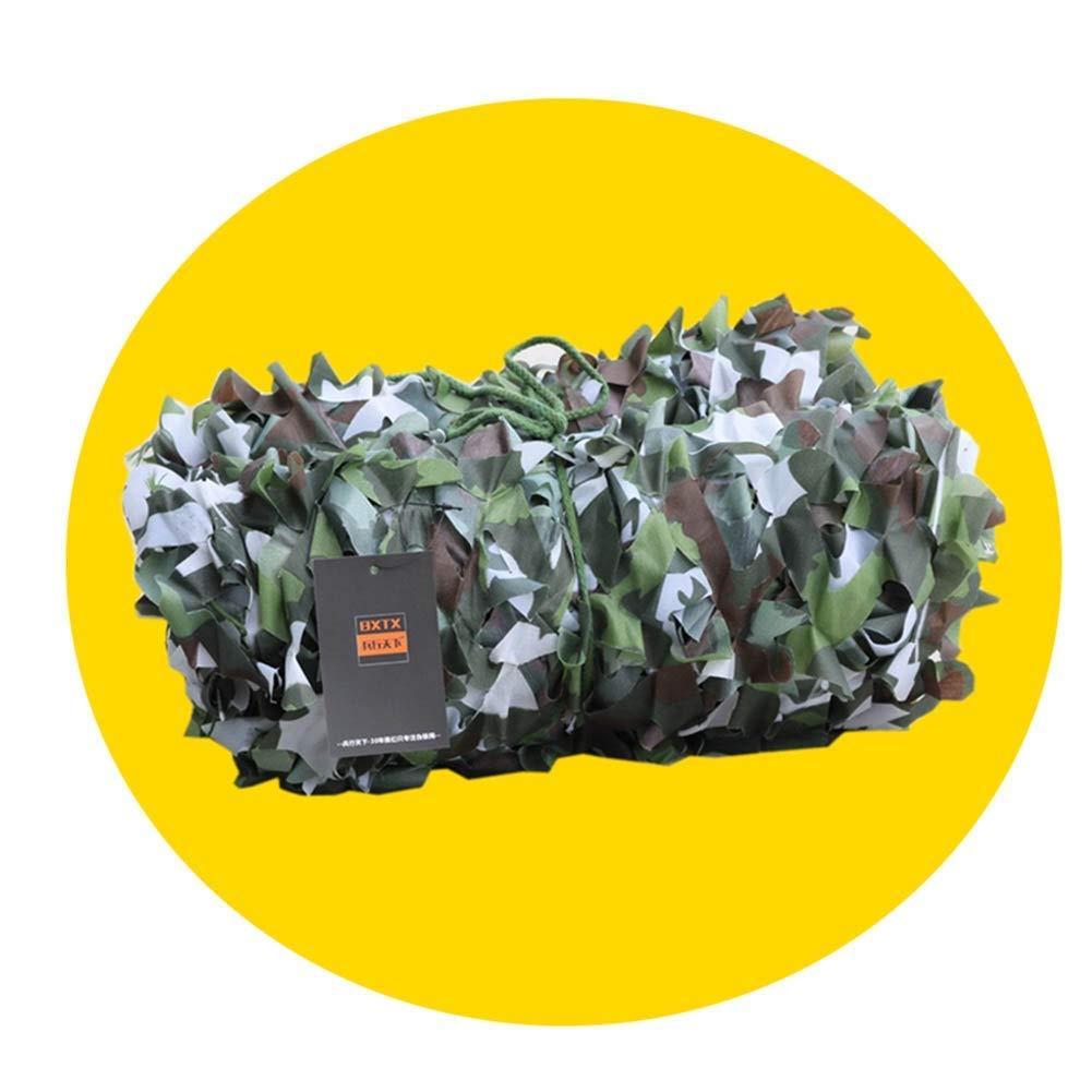 8x8m QIANGDA Filet De Camouflage Filet pour Parasol Filet Camo Tissu Oxford Chasse Cacher De Tir Armée De Camping Cacher 1M-10M (Taille   3x5m)