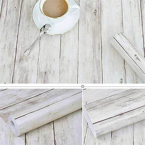 Amazoncom Self Adhesive Wood Grain Wallpaper Waterproof Old