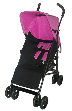 Buggy Bebies First 5 stand Zwart/roze: Amazon.es: Bebé