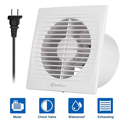 Hon Guan 6 Home Ventilation Fan Bathroom Garage Exhaust Fan