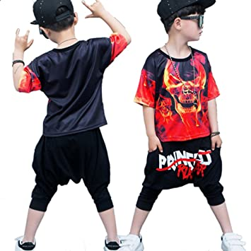 3388ccdc1 Moyuqi™ New Stytle Children Jazz Dance Clothing Boys Street Dance Hip Hop  Dance Costumes Kids