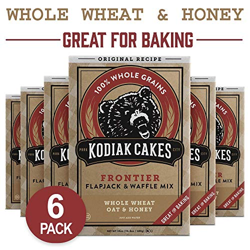 (Kodiak Cakes All Natural Frontier Pancake, Flapjack and Waffle Mix, Original, 24 Ounce (Pack of 6))