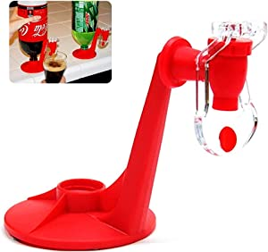 Upside Down Drinking Fountains Beverage Dispenser Soda Cola Beer Switch Pressure Red