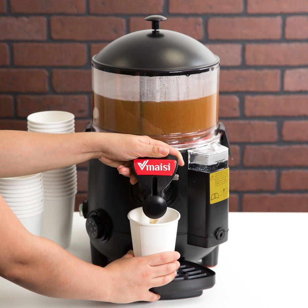 CFO 5 Liters Commercial Hot Chocolate Machine Beverage Dispenser (5 Liters)