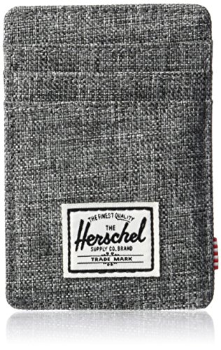Herschel Supply Co. Men's Raven RFID Wallet, Crosshatch, One Size
