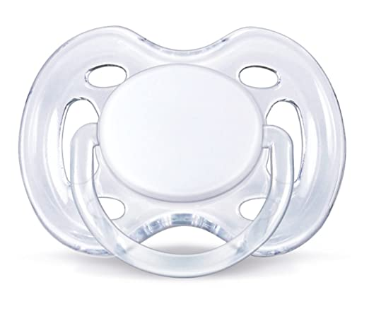Philips AVENT BPA Free Freeflow Pacifier, 0-6 Months, 2-count, assorted colors