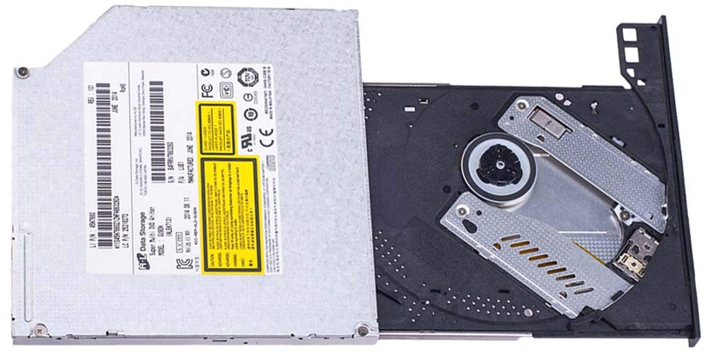 AS NEW Laptop SATA Slim 9.5mm DVD-RW Burner Drive GU90N GU10N GUB0N GU61N GU71N CD-R/RW, DVD-R/RW/+R/+RW/ +/-R DL Disc Read and Write Compatible, M-DISC/+R SL Read and Write