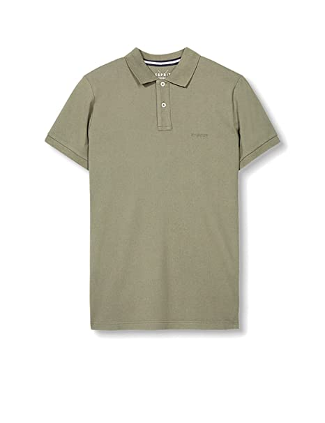 Esprit 027ee2k024 - IC-Polo Hombre Verde 350 Khaki Green Medium ...