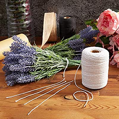 Bright Creations Twine String for Crafts (200 Yards, White): Arts, Crafts & Sewing