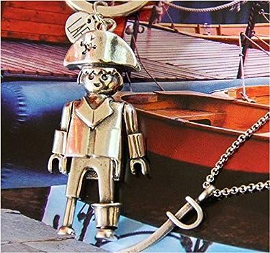 Llavero Playmobil pirata tamaño grande (Producto Oficial).
