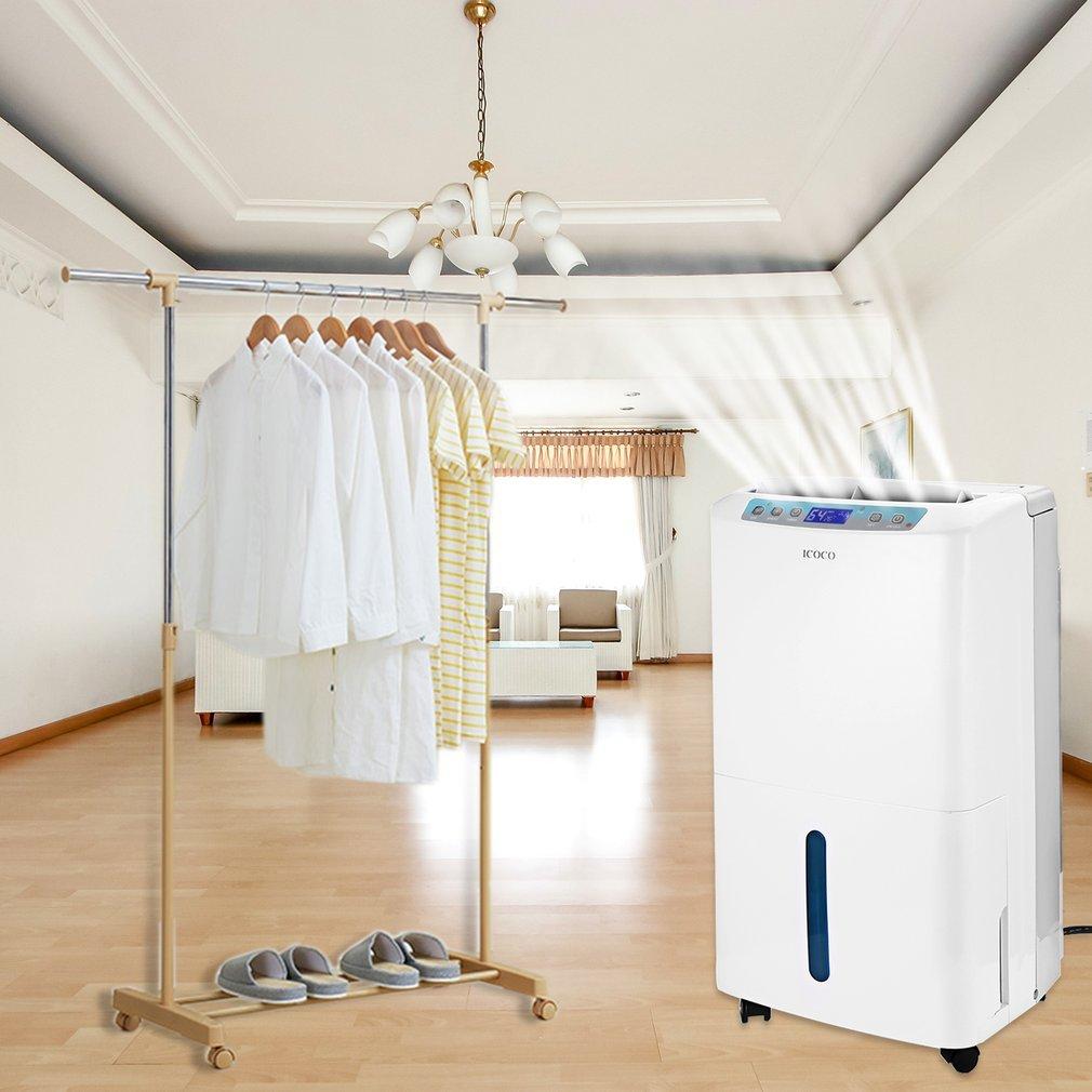 D/éshumidificateur Chambre ICOCO 22L // D D/éshumidificateur Electrique dAir Silencieux avec R/éservatoir dEau de 2.5L et Certificat de CE pour Cuisine Garage Sous-sol