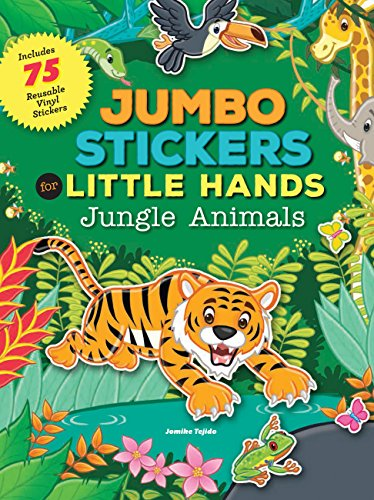 - Jumbo Stickers for Little Hands: Jungle Animals