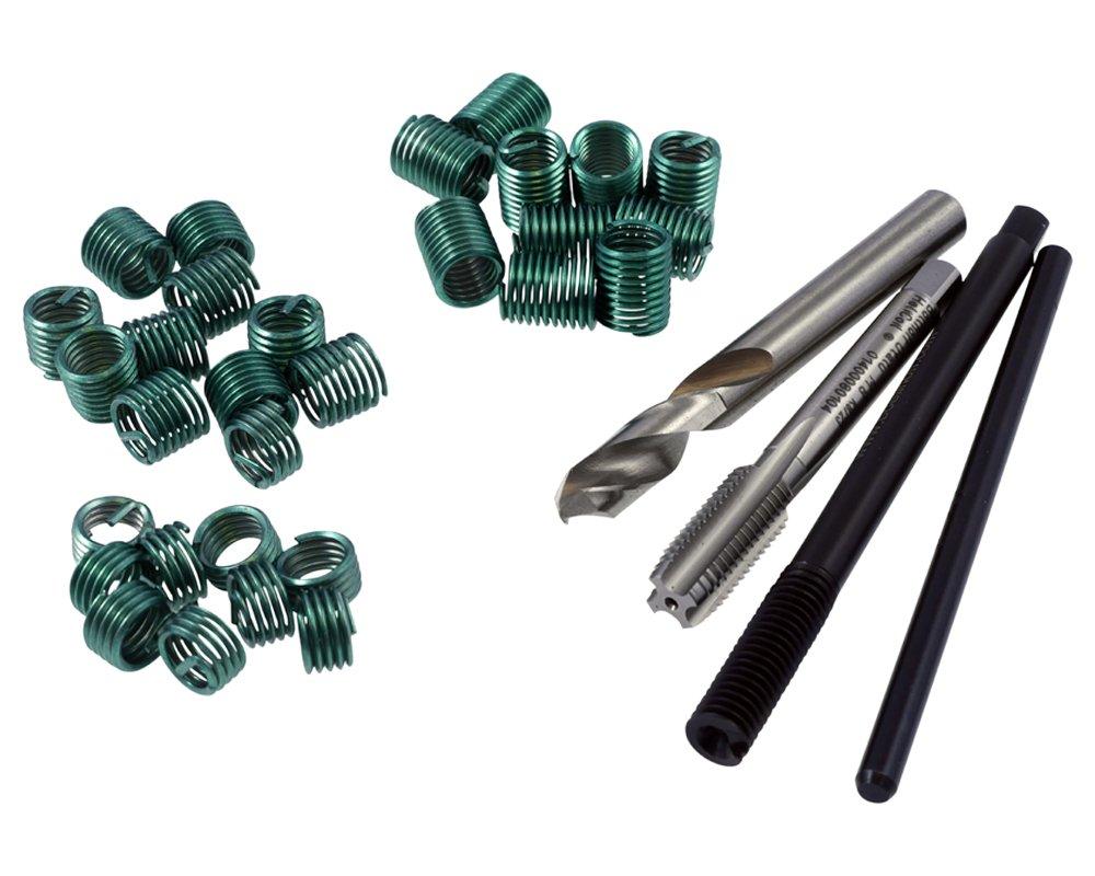 HeliCoil plus M 8 x 1,25 Reparatur-SET Steigung 1,25 je 10 Gewindeeins/ätzen