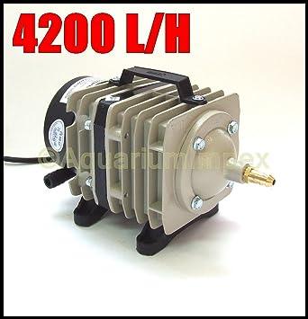 ACO 328 - Pistones De Compresor Como Bomba Ventilación Para Estanque De jardín
