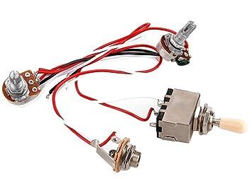 saysure guitar accessories guitar wiring harness 3way toggle rh amazon co uk
