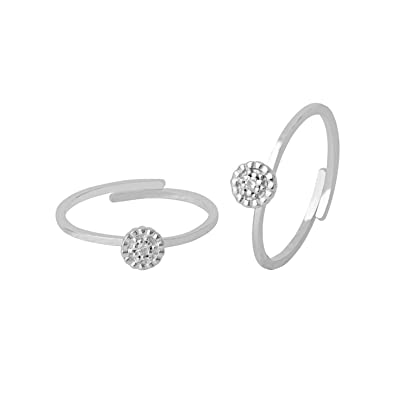 4f4e5bf91f9c3 Buy Voylla 925 Sterling Silver Toe Rings for Women Online at Low Prices in  India