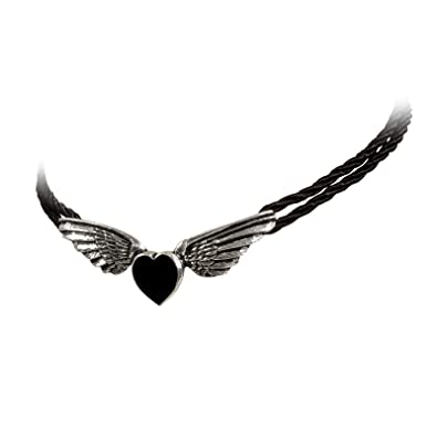 Alchemy Gothic Coeur Noir Necklace 3dIjgM0hQ5