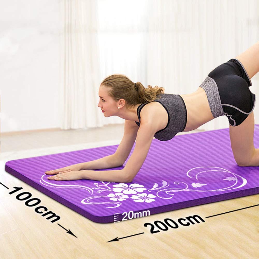 TESITE Estera De Yoga/Manta Antideslizante Ensanchada De 20 ...