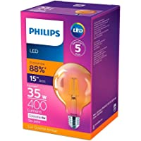 LED Filamento G93 2500K 400LM 100-240V, Philips, 4W