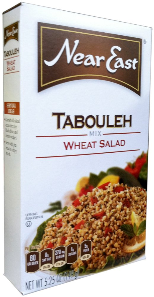 Near East Tabouleh Wheat Salad Mix 5.25oz (Pack of 6)