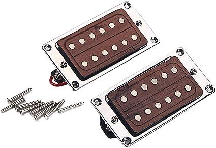 Gitarre Humbucker Coil Pickup Silber