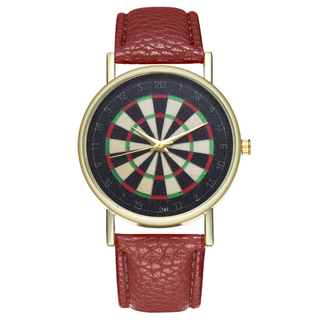 Toponly Women Watches Leather Band Luxury Quartz Watches Girls Ladies Wristwatch