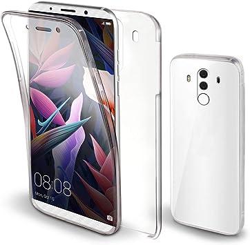 Moozy Funda 360 Grados para Huawei Mate 10 Pro Transparente -Full ...