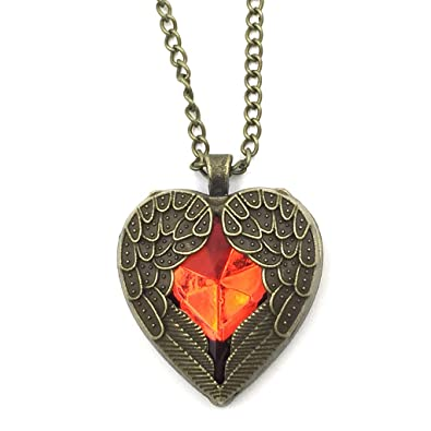 to with fit ed tiffany id double pendants wid heart pendant necklaces enamel hei silver constrain jewelry return fmt in red