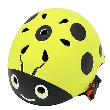 YAKOK Casco de Seguridad para niños, diseño de Escarabajo ...