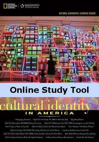 eBook for National Geographic Reader: Cultural Identity in - Cultural Identity In America
