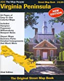 img - for ADC The Map People Virginia Peninsula Street Map Book book / textbook / text book