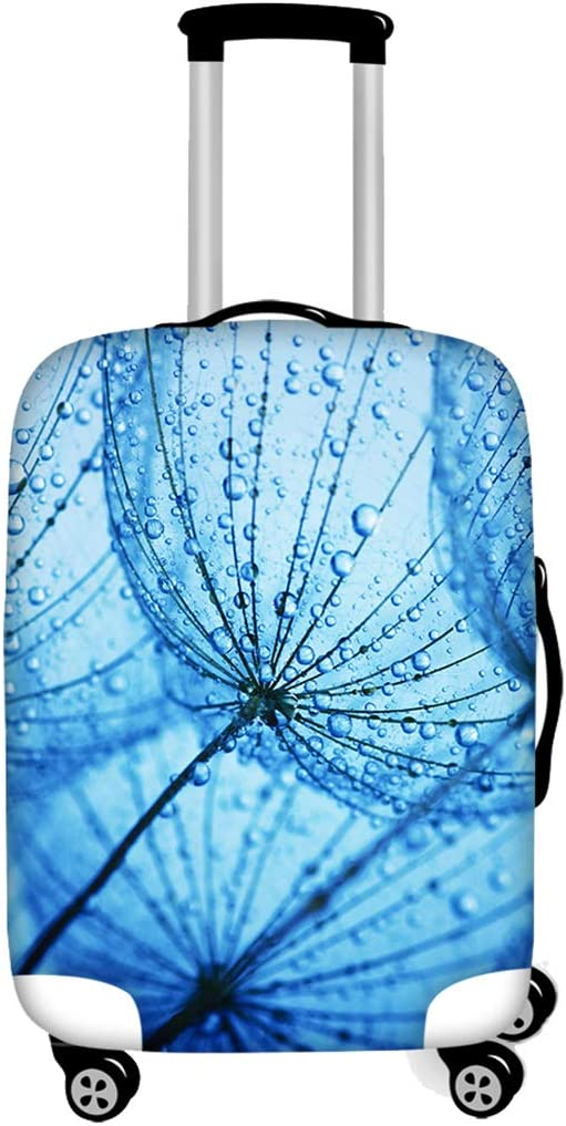 18-21 Inch Luggage Cover Protector Dandelion Print Suitcase Protective Covers with Zipper