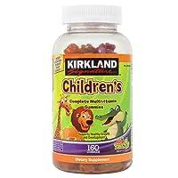 Kirkland Signature Childrens' Complete Multivitamin Gummies 160 Count (Orange, Cherry...