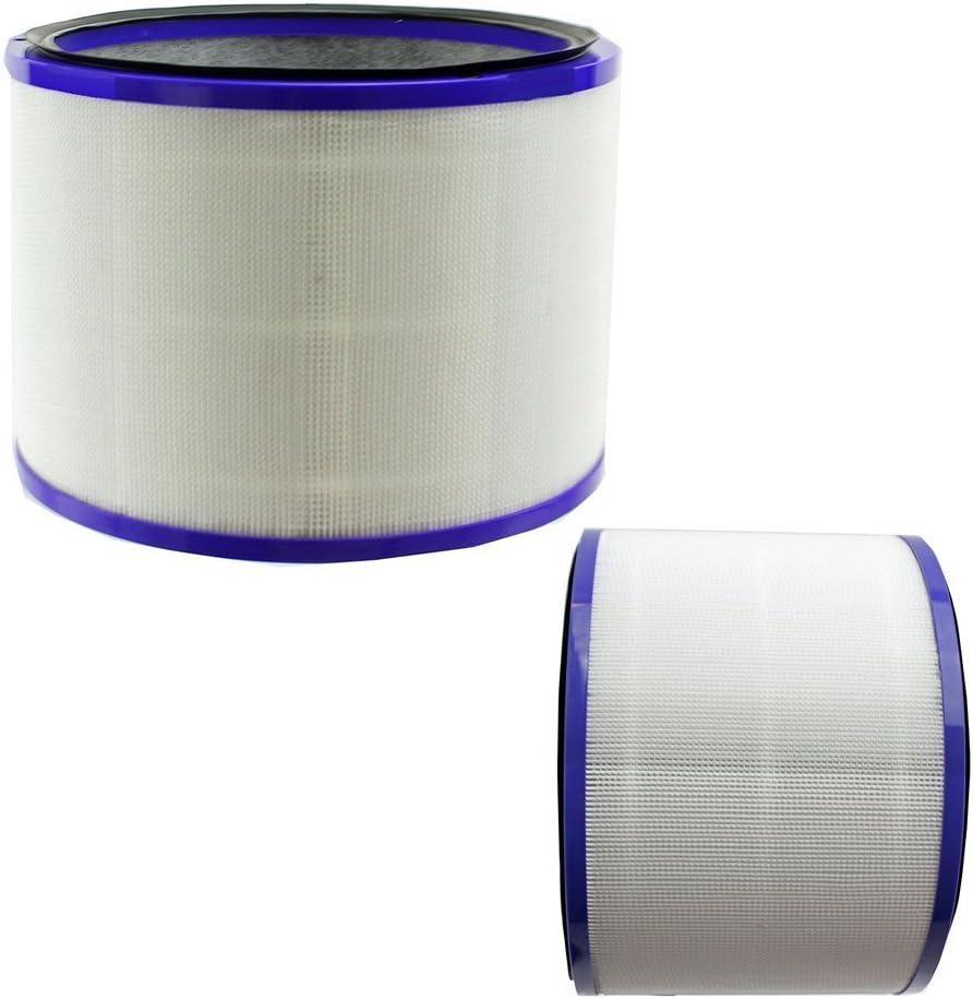 Top 2 Pack Filtro para Dyson 967449 – 04 Pure Cool Link escritorio Hot + Cold Air Cleaner Ventilador DP01: Amazon.es: Hogar