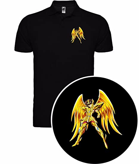 The Fan Tee Polo de Hombre Caballeros del Zodiaco Saint Seiya ...