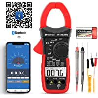 Digital Clamp Meter Voltage Tester,HOLDPEAK HP-570CAPP Multimeter with Amp Ohm Tester,4000 Counts Multimeter with AC/DC…