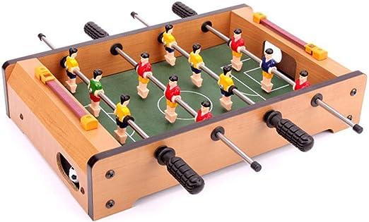MJ-Games Mesa de futbolín, Mesa portátil, Mini Mesa, fútbol, Juego de fútbol con Dos Bolas y Marcador de anotaciones para Adultos y niños: Amazon.es: Hogar