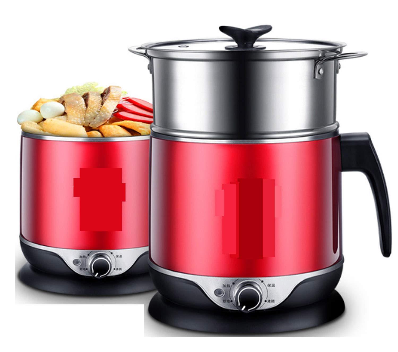 Huaishu Antihaft-Reiskocher-automatischer heißer Topf-Schlafsaal-Büro-Rot 1.8L 600W