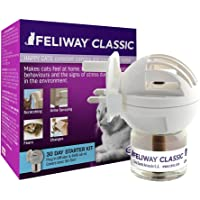 FELIWAY Classic 30 day starter kit. Diffuser and Refill. Comforts cats and helps solve behavioural issues in the home, 48 ml