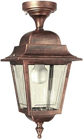 F309 – bonita Iluminación para lámpara de pared exterior, lámpara de jardín, – para techo, – colgante, – farol – Valastro Iluminación.: Amazon.es: Iluminación