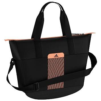 9414293760c7 Adidas Women s Climacool Women s Sports Workout Bag Black Orange   Amazon.co.uk  Sports   Outdoors