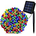 SOLARMKS Solar String Lights 72ft Outdoor String Lights,200 LED Season Decorative