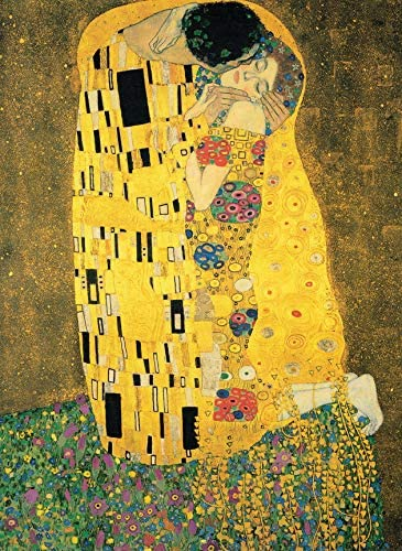 PalaceLearning Kiss Gustav Klimt Laminated product image