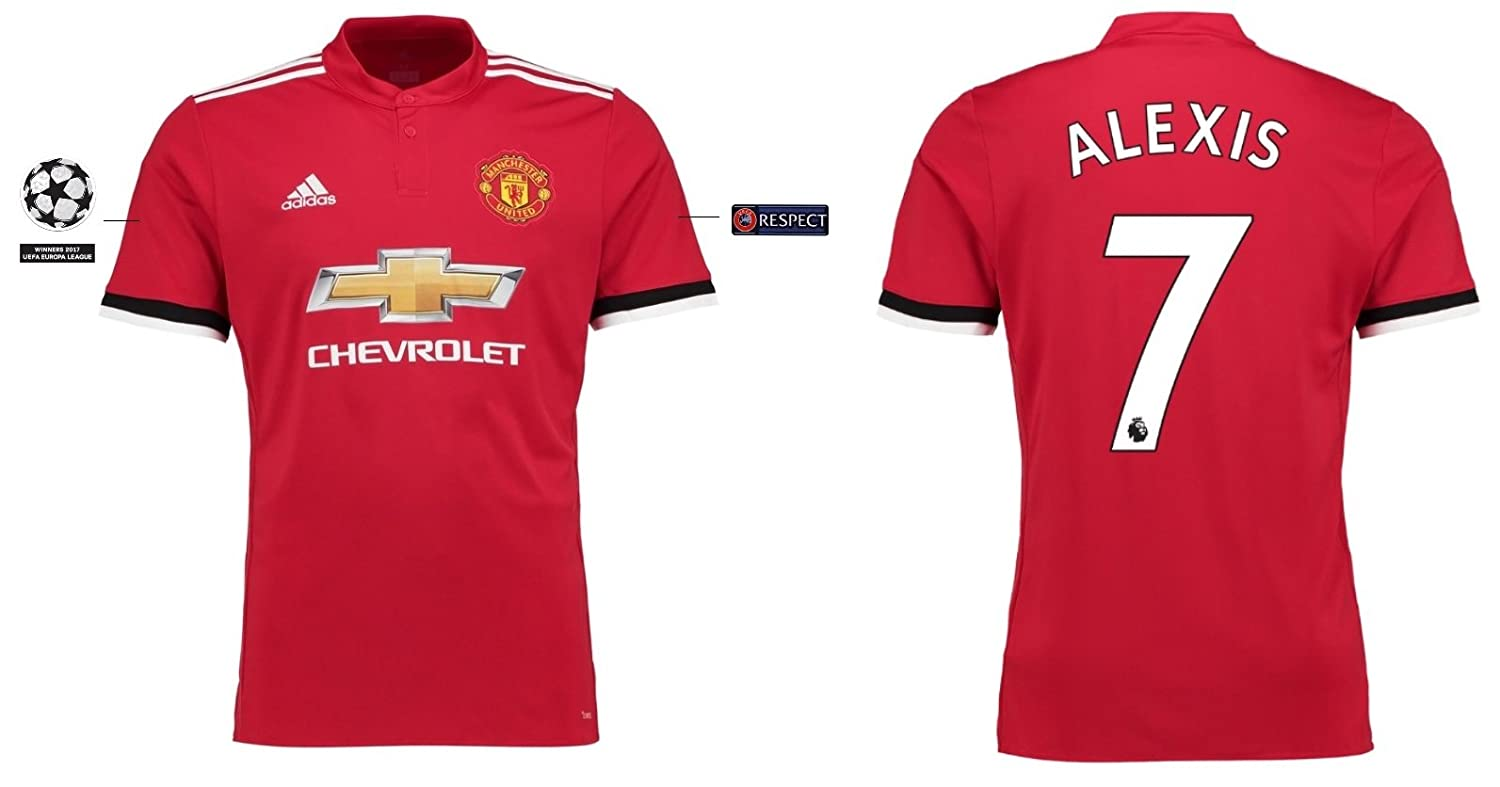 Trikot Kinder Manchester United 2017-2018 Home UCL - Alexis 7