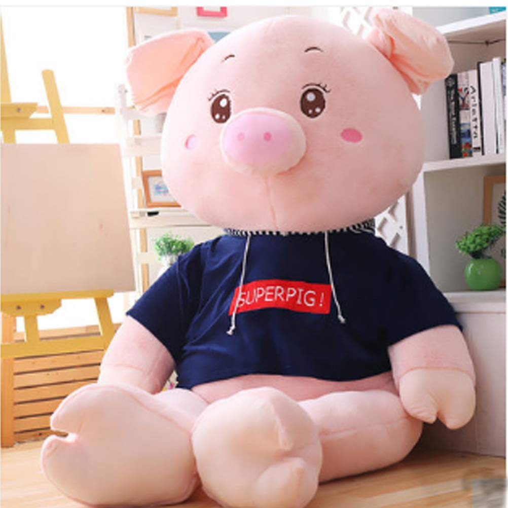 YABINA (210cm) TOYS ブタ ぬいぐるみ 特大 豚 ブタ pig 大きいぶた可愛い動物ぬいぐるみ 特大 クリスマス 彼女 出産ギフトプレゼント (210cm) 210cm B07PM9LMQG, 美甘村:3a7c5d94 --- krianta.com