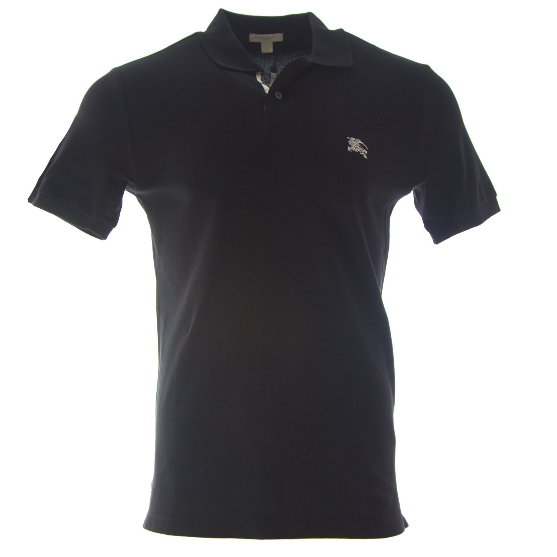 Burberry Brit Men s Check Placket Polo Shirt at Amazon Men s