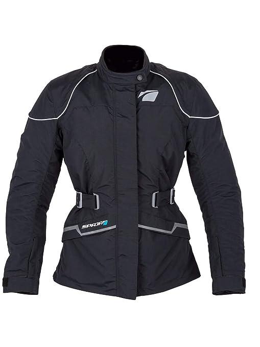 Spada Chaqueta Moto Impermeable Para Mujer Anna Negro (Eu 42 ...