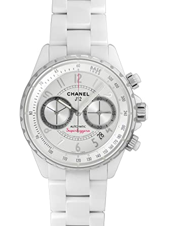1a8487437ff3 [シャネル] CHANEL 腕時計 J12 スーパーレッジェーラ H3410 自動巻き メンズ 新品 [並行輸入