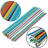 50 pcs 5 Color Plastic Welding Rods for Welder Sticks