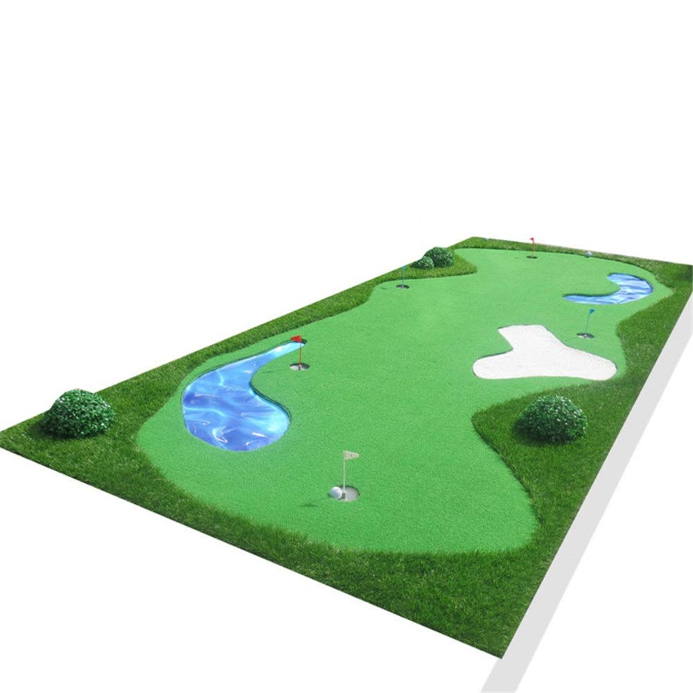 練習パターマットセットパター ゴルフパッティングマットグリーン屋内屋外ポータブル肥厚ノンスリップミニゴルフ人工グリーン屋内ゴルフマットトレーニングエイド (色 : Project, サイズ : 1.5*3.5m) B07PZXTDD3 Project 1.5*3.5m